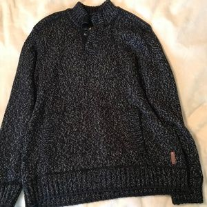 Mens wool Roots Sweater